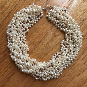 Jewelry - Freshwater pearl multi strand layered necklace